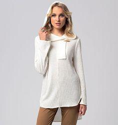 Vogue 8763 Patroon Losvallend Shirt Met Vlindermouw In 3