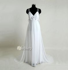 Hey, I found this really awesome Etsy listing at http://www.etsy.com/listing/157525424/couture-chiffon-wedding-dresssexy-beach