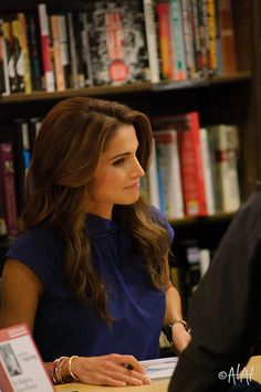 """Queen Rania, """"The Sandwich Swap"""""""