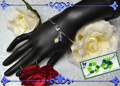 Bracelet perle et cristal de la boutique AmeDecoLogikFB sur Etsy