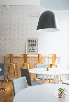 Nethercote wallpaper in PureWow's Stylish NYC Office - @Homepolish New York City
