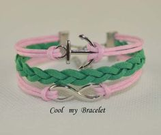 Handwoven personality infinite ship anchor by Coolmybracelet, $2.99