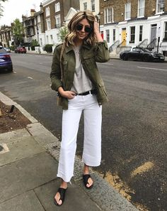 How To Wear White Jeans This Spring