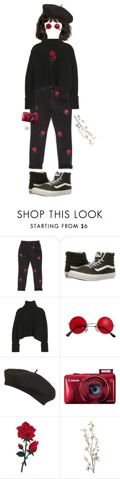 """""""pepsi-MAN"""" by naomi-sd ❤ liked on Polyvore featuring The Ragged Priest, Vans, Topshop and Pier 1 Imports"""