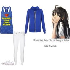 Percy Jackson Outfit Challenge: Day 1