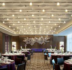 W Taipei—Great Room - Dinner Setup Multipurpose Hall, Function Hall, Hall Interior, Interior Walls, Interior Design, Lounge Design, Spa Design, Design Ideas, Hall Design