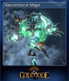 Cromo de Steam «Necromancer Mage» de God Mode