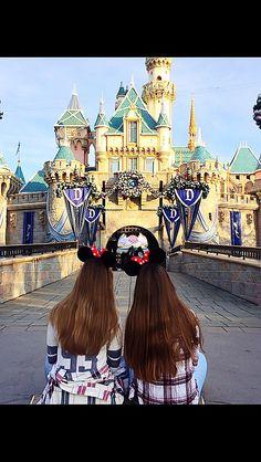 Disneyland with your best friend :)
