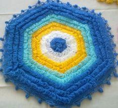 puskullu-sacakli-lif-modelleri-23 Crochet Doilies, Easy Crochet, Diy Popsicle Stick Crafts, Crochet Kitchen, Diy And Crafts, Crochet Patterns, Stitch, Blanket, Knitting