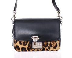 0c2c06a9d6e8 Women s Black Miss Linda Leather Shoulder Bag. Modemani Outlet · Dolce   Gabbana  Bags