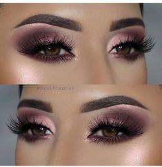 Gorgeous Chic Smokey Eye Makeup Ideas That Looks Great ! wunderschöne schicke smokey eye make-up-ideen, die toll aussehen Gorgeous Chic Smokey Eye Makeup Ideas That Looks Great ! Smokey Eyeshadow, Smokey Eye Makeup, Makeup For Brown Eyes, Eyeshadow Makeup, Eyeliner, Smoky Eye, Pink Eyeshadow, Pink Smokey Eye, Maybelline Eyeshadow