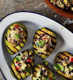 Grilled Avocado Halv