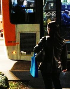 tive sorte com a roupa do pessoal dentro do ônibus!