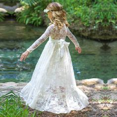 Vintage & Lace Long Dress