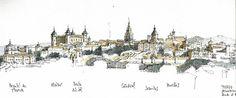 Toledo, panorama from north