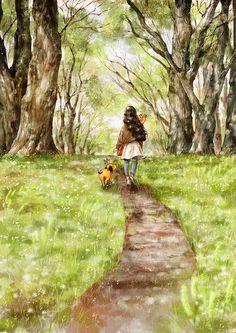 봄길을 걸어요 (Walking the spring road), Aeppol