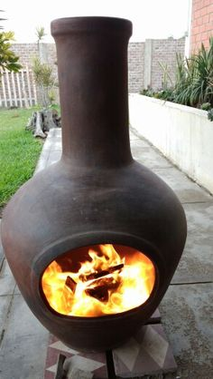 Chimeneas at barrio antiguo for the home pinterest - Chimeneas de barro ...