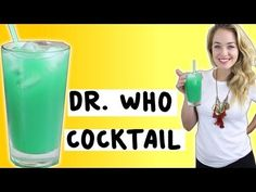 Dr Who Sonic Screwdriver Cocktail - TipsyBartender - YouTube