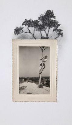 Lauren King – Drawing Outside The Borders Of Vintage Photos Art And Illustration, Art Du Collage, Mixed Media Collage, Art Postal, Kunst Online, Creation Art, Photocollage, Art Design, Art Plastique