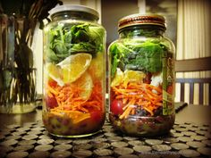 Abigail Keeso — Healthy Meal Idea: Salad Jars