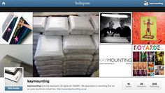 #diasec   http://instagram.com/kaymounting/  We made it onto Instagram at last :-D