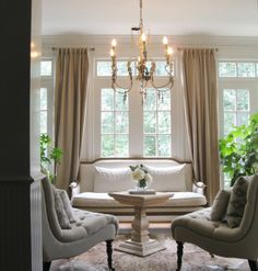 This should come with a tanned, handsome gentleman serving tea and snacks!   I would never leave.   Houzz - Home Design, Decorating and Remodeling Ideas and Inspiration, Kitchen and Bathroom Design