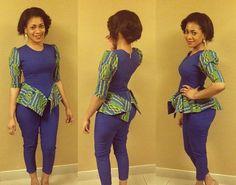 Beautiful Ankara Style for Ladies  http://www.dezangozone.com/2015/07/beautiful-ankara-style-for-ladies_21.html