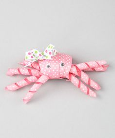 crab clip... I LOVE THIS! Different Colors of course.