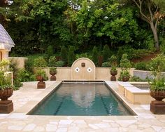 Lap pools with spa on pinterest lap pools spas and pool for English garden pool