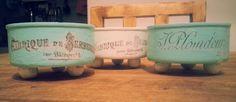 latas de atun recicladas