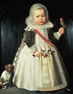 1627 Anonymous, Portrait of a Boy and his dog