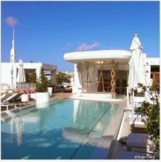 Miami Beach,  Piscine du Dream South Beach Hôtel