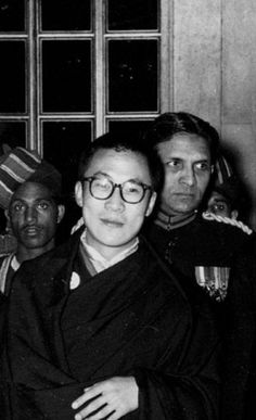 14th Dalai Lama New Delhi, in India 1956
