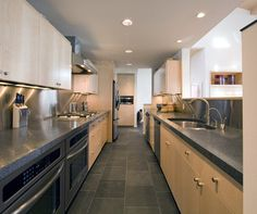 Kitchen with a penquin - contemporary - kitchen - seattle - by Pelletier + Schaar