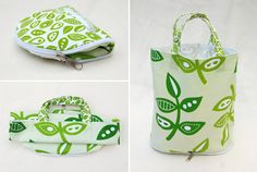 tuto: sew a wallet that turns into a tote. This would be great for keeping in your purse or car for when those unplanned grocery trips crop up and you don't want to use plastic sacks. I almost always forget my tote when I go grocery shopping!