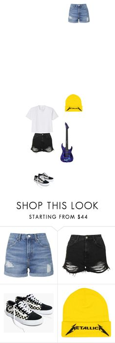 """metallica lover"" by ericanunes on Polyvore featuring Topshop, Madewell and TIBI"