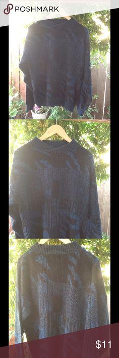 Vintage 80's Eighties Hipster Acrylic Sweater Small eighties acrylic sweater. Vintage Sweaters Crew & Scoop Necks