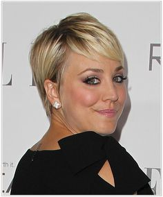 kaley cuoco pixie haircut 2014 | The Hottest New Pixie Cut Hairstyles