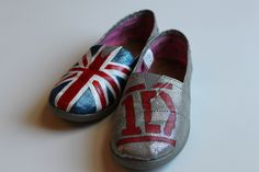 TOMS,TOMS,TOMS  Hand-painted, Custom Toms  info at tresfancy.etsy.com