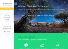 One Page Scroll-Best Free One page WordPress Themes