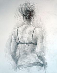 женская спина карандашом - Поиск в Google