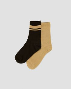 ZARA - WOMAN - PACK OF STRIPED SOCKS