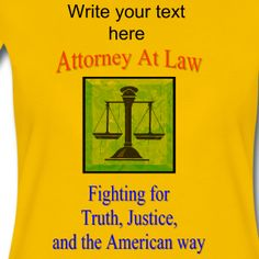Attorney At Law Women's Premium T-Shirt from PersonalizedSouvenirs.com.