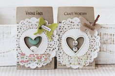 Sizzix: Die Cutting Inspiration and Tips: Vintage Pockets