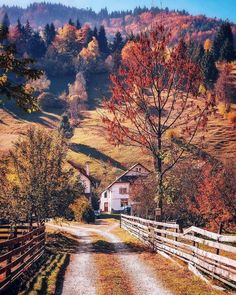 Moieciu village in Brașov County Romania. Places To Travel, Places To See, Transylvania Romania, Romania Travel, Bucharest Romania, Wonders Of The World, Countryside, The Good Place, Beautiful Places