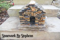 How To Build A Miniature Stone House