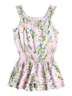 roxy, Girl's 2-6 Surf Break Dress, Pink Mist-6 (mdz6)