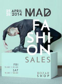 MAD FASHION SALES 25-26/04 BOZAR SHOPPP!!! COME!!