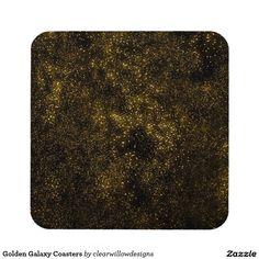 Golden Galaxy Coasters