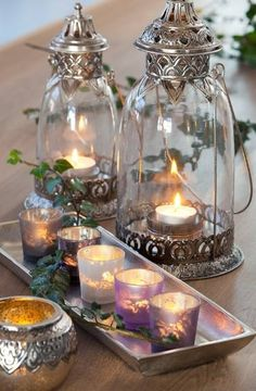 By Candlelight . . .